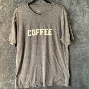 GAP Coffee Tee Grey